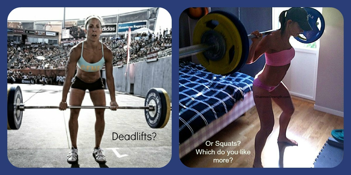 Squats vs Deadlifts Squats vs Deadlifts | Shannon